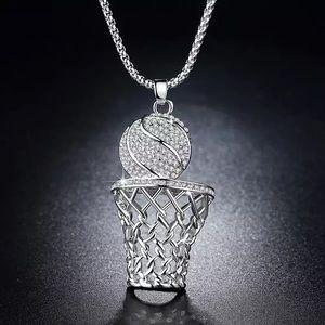 Basketball Box Necklace
